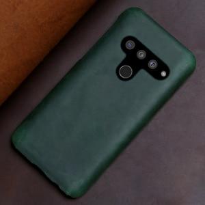 Image 3 - Genuine Leather Phone Case For LG G8s V50 V10 V20 V30 V30S V40 G3 G4 G5 G6 G7 G8 G8X Q6 Q7 Q8 ThinQ K40 Crazy Horse Skin Cover