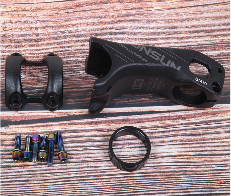 HONSUN CNC fahrrad vorbau rennrad руля горного велосипеда mtb 20 град 28,6*31,8 мм* 90/70 мм radfahren fahrrad teile