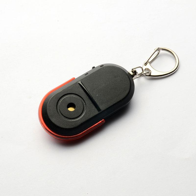 Whistle Sound LED Light Anti-Lost Alarm Key Finder Locator Keychain Device @M23