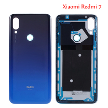 Original for Xiaomi Redmi 7 Back Battery Cover Rear Door Housing Case Glass Panel 6.26inch Replacement