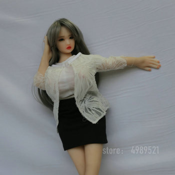 new 2 hole New Listing 69cm Japanese Realistic Lifelike Full Body  Sound, the vagina can vibrate sex doll for men
