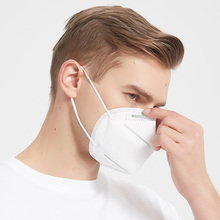 KN95 Dustproof Anti-fog And Breathable Face Masks 5-Layer Air Pollution N95 Respirator Mask 95% Filtration Features as KF94 FFP2