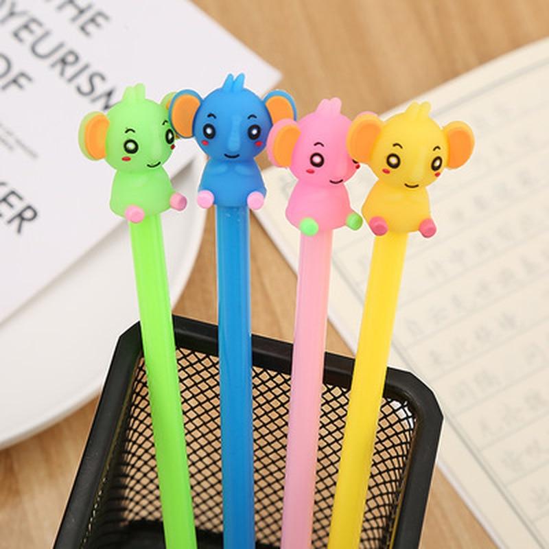 1pcs Garden Foot Bear Gel Pen0.5mm Student Stationery Gel Pens Novelty Cute Kawaii Pen Signature Pens Kawaii School Supplies
