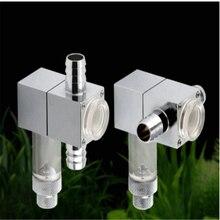 Atomizer Diffuser Bubble-Counter Aquarium Ceramic Check-Valve Fish-Tank-Co2 Water-Plant