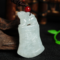 Natural yu beast pendant yu Antique Jewelry necklace pendant lucky with certificate Auspicious yu