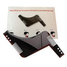Brush-Tool Template Comb-Care Beard Shaving-Shave Barba Salon for The Shower Styling
