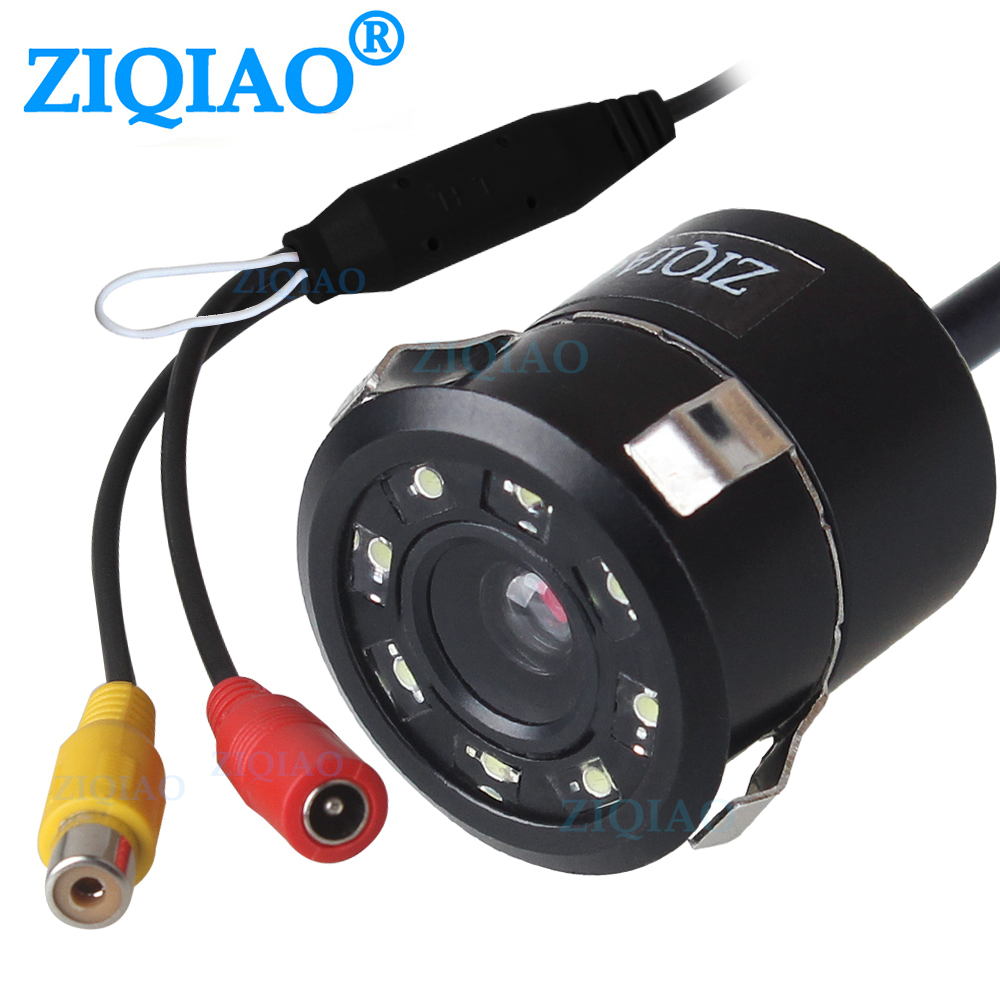 ZIQIAO Car Rear View Camera Guides Line Can Control Reverse Parking Backup Camera HS078