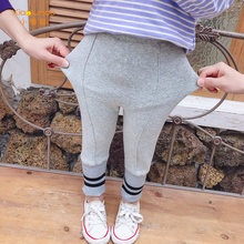 Леггинсы для маленьких девочек милые эластичные теплые штаны