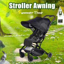 New Stroller UV-resistant Awning Universal Detachable Baby Sunshade Windproof Sun-proof Stroller Accessories New