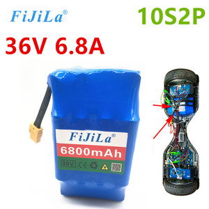 Batería recargable de iones de litio de 36V 10S2P, paquete de batería de 6,8 Ah para hoverboard eléctrico de autosucción unic