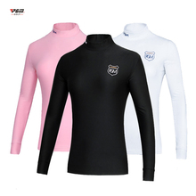 Sportswear Shirts Compression-Clothes Long-Sleeve Ropa-De-Golf Quick-Dry Women Lady Tennis