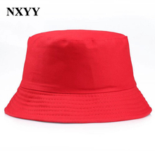 NXYY Top Lucky Red Bucket Hat for Women Men Foldable Casual Caps Fashion Outdoor Cap HIP HOP Unisex Panama Fishing Fisherman Hat c gree outdoor fishing hat men sunshade breathable adjustable high quality fashion basebal cap casual hip hop caps
