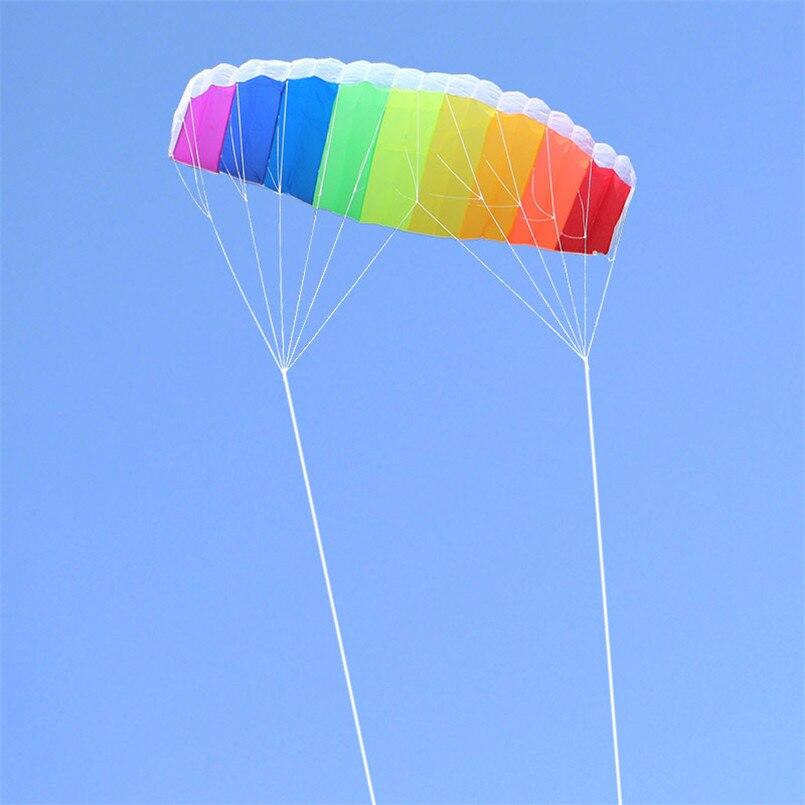 1-4-Meter-Dual-Line-Parachute-Rainbow-Kite-Parafoil-Sports-Software-Paragliding-Nylon-Beach-Stunt-Kites (2)