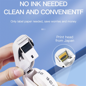 Image 2 - Niimbot D11 Mini Portable Thermal Price Label Printer Hangul Bluetooth Label Maker Pocket Materials Management Sticker Machine