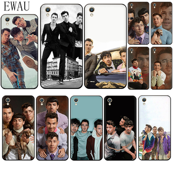 EWAU Jonas Brothers Silicone phone case for OPPO A5 A57 A59 A83 F7 F9 R9s R11s A37 A77 F11 R15 R17 pro image