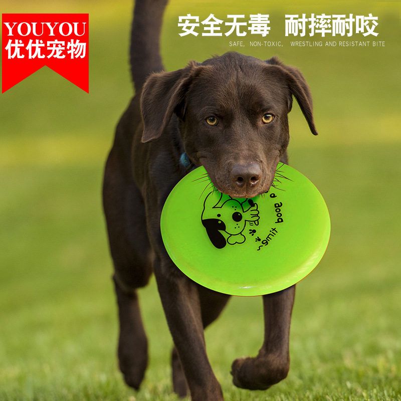 Pet Toy Discipline Pet Toy Plastic Goods Dog UFO A Border Golden Retriever Game Training Special