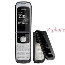 Горячая Распродажа Nokia 2720 складной мобильный телефон 2G GSM трехдиапазонный разблокированный русский арабский клавиатура отремонтированный дешевый телефон