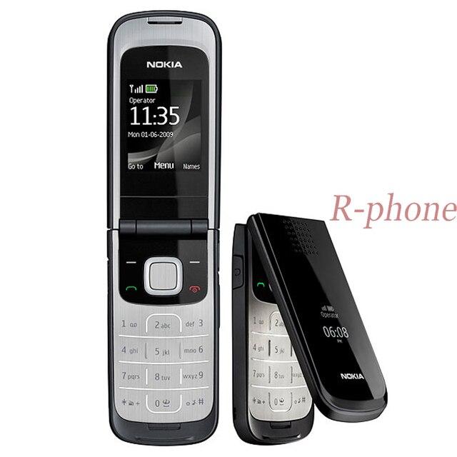 هاتف نقال أصلي 2720 قابل للطي من نوكيا 2G GSM ثلاثي الموجات غير مقفول روسين لوحة مفاتيح عربية مجددة هاتف رخيص السعر