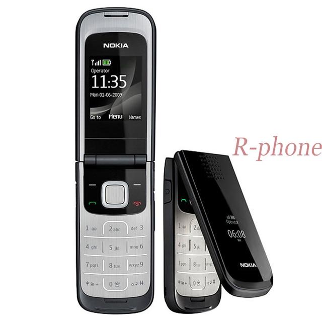 Vente chaude Original Nokia 2720 pli téléphone Mobile 2G GSM tri bande débloqué Russin arabe clavier remis à neuf pas cher téléphone