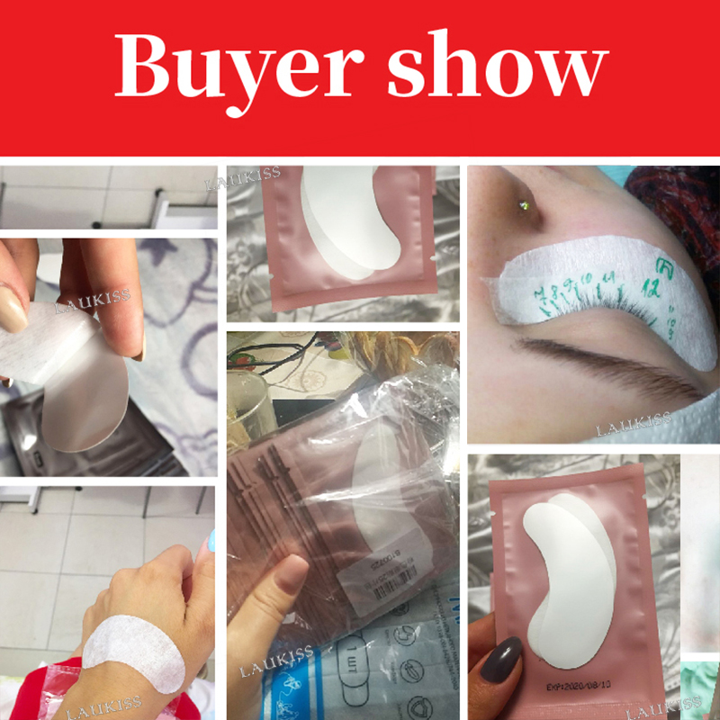 Hot Deals50-Pairs Patches Stickers Eyelash-Extension Eye-Pads Beauty-Tips Paper-Under-Eyes Wraps-Tools