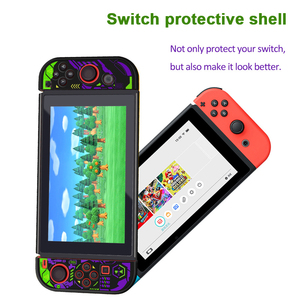 Image 2 - For Nintendo Switch Cute Case Nintend Switch PC Case Protective Housing Thin Shell Skin Colorful NS Switch Accessories