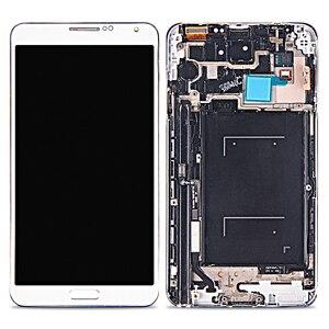 Image 5 - Amoled para samsung Galaxy Note 3 LCD pantalla táctil con marco digitalizador montaje para samsung Note 3 N9005 lcd reemplazo