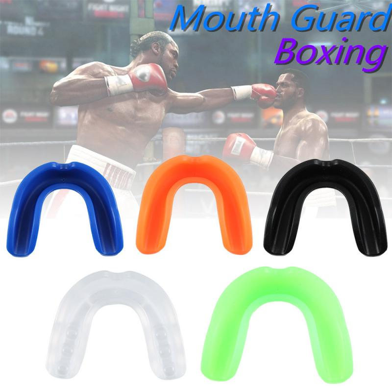 Boxing Mouth Guard Night Bruxism Mouth Guard Teeth Whitening Grinding Taekwondo Muay Thai Teeth Protection Shield Mouth Trays