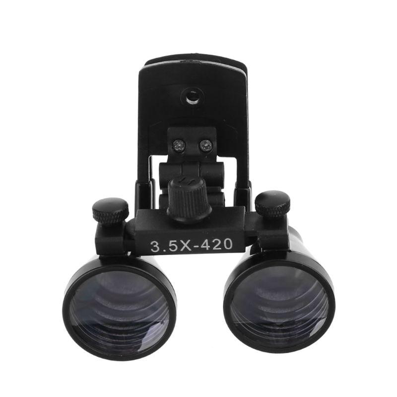 Binocular Optical Loupes 5X Magnification Dental 3 Dentist 2 Lens Dentistry 5X Galilean Magnifier Glass