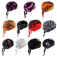 Unisex Motorcycle Biker Skull Cap Beanie Hip Hop Dance Butterfly Print Bandana Hat Helmet Liner Head Wrap Adjusted Pirate Scarf saf 2016 new unisex dressing up white skull pattern pirate bucket hat cap