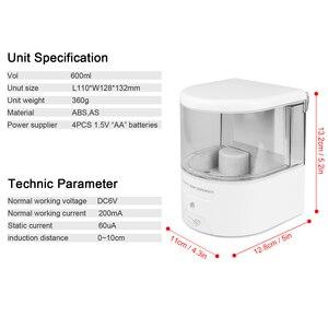 Image 3 - 600ml ติดผนังเซ็นเซอร์ IR อัตโนมัติสบู่ TOUCH แบตเตอรี่ Powered สบู่โลชั่นปั๊มห้องครัวห้องน้ำ