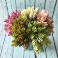 30 головок долларов США/сосновая шишка моделирование ананас трава искусственные растения DIY домашних ваз для украшения поддельные пластико...