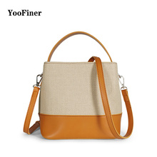 2019Fashion Magnetic Buckle Women Bucket Bag Vintage Tassel Messenger High Quality Shoulder Simple two colors blend