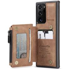 三星銀河 (注) 20超S20 fe革ケース、casemeレトロバックケースカード財布財布は裏表紙スタンド