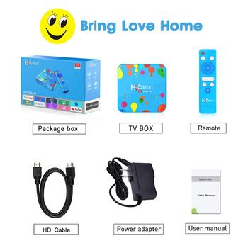 H96 Mini H6 4GB+32GB TV Box For Android  HDR Quadcore TV Box Support TF Card USB Drive
