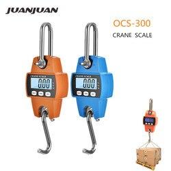 Mini-balance à grue Portable LCD, balance électronique numérique, balance industrielle, poids lourd, échelles à crochet en suspension, 300 kg, rabais