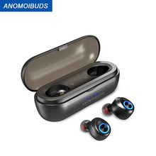 Anomoibuds Capsule Pro 50 Hour Playtime Support AAC TWS Earbuds V5.0 Bluetooth H