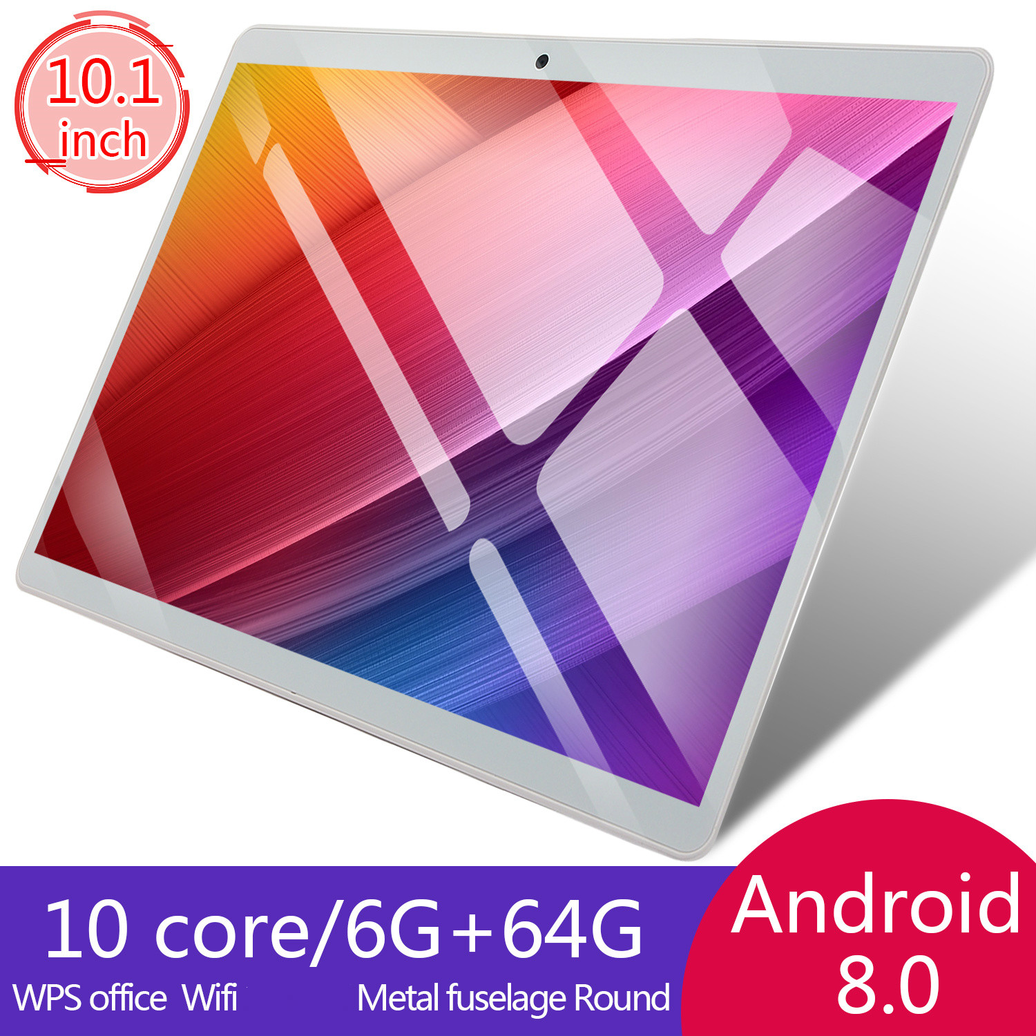 10 Inch Tablet PC 4G  Octa Core Super Tablets Ram  WiFi GPS 10 Tablet  SIM GPS Android 8.0 2020  6G+64G