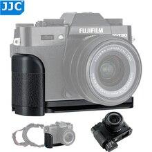 JJC Soporte de placa en L para cámara, empuñadura de mano para Fujifilm X T30 X T20 XT30 XT20 XT10, accesorios para cámaras, sustituye a Fuji X T10