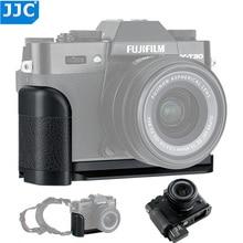 Jjc suporte para câmera de fujifilm, punho para câmera l, para fujifilm X T30 X T20 X T10 xt30 xt20 xt10, acessórios de substituição, fuji MHG XT10