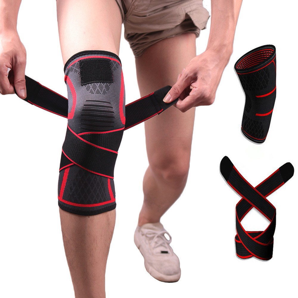 Sports Knee Support Adjustable Knee Brace Pads Fit