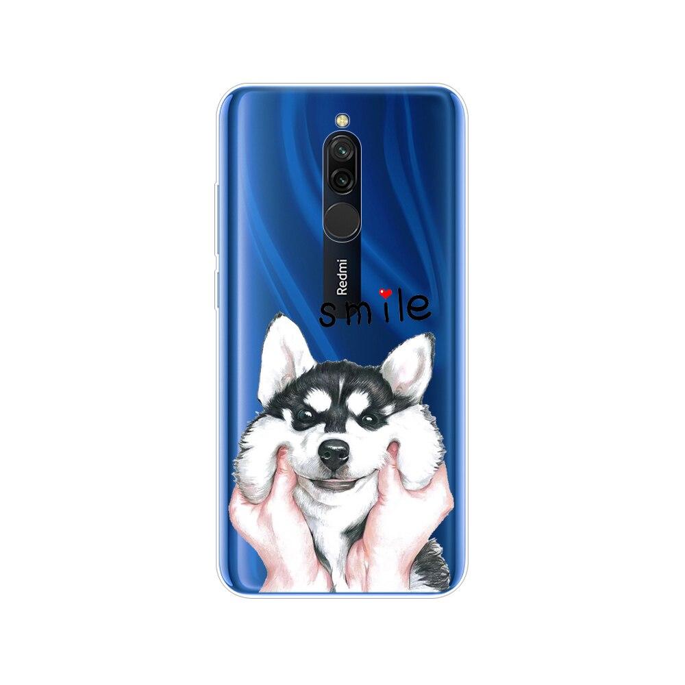 Case For Xiaomi Redmi 8 Cases Cover Soft Tpu Silicon Coque For Redmi 8 Bumper Hongmi 8 Bumper Copas Full 360 Protective Fundas
