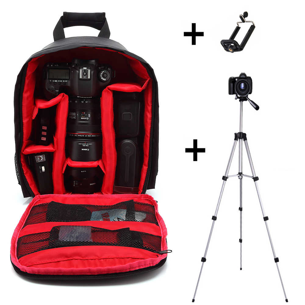 Multi-functional Camera Backpack Video Digital DSLR Bag Waterproof Outdoor Camera Photo Bag Case for Canon/DSLR for Nikon