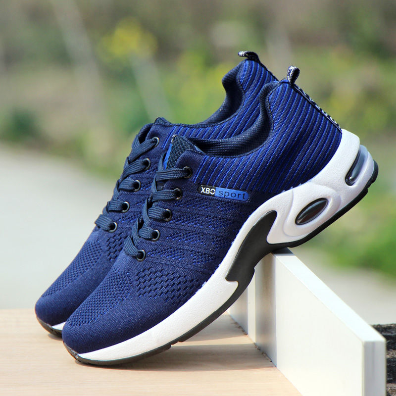 KAMUCC Sneakers Men Flyknit Breathable Casual Male Footwear Light Big Size Tenis Masculino Adulto Support Dropshipping 39-44