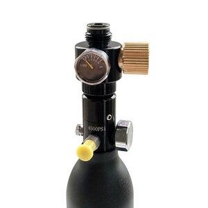 Image 5 - Régulateur de cylindre de cylindre pour pistolet à Air comprimé PCP, pression réglable, 0 0.825 psi, ngo