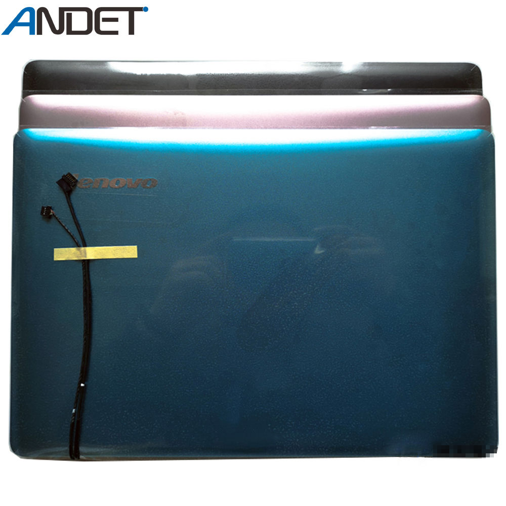 New Original <font><b>Lenovo</b></font> IdeaPad <font><b>U310</b></font> <font><b>Lcd</b></font> Rear Lid Back Cover Top Case with Antenna Touch NO Touch image