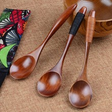 Wooden Spoon Bamboo Kitchen Cooking Utensil Tool Soup Teaspoon Catering For Kicthen Spoons Catering Coffee Spoon Tableware catering business