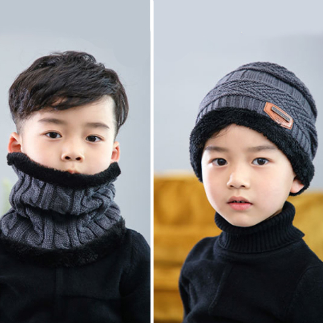 Boys Knitted Wool Hat 3