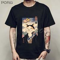 חולצת טי שירט מודפסת בסגנון אנימה יפני