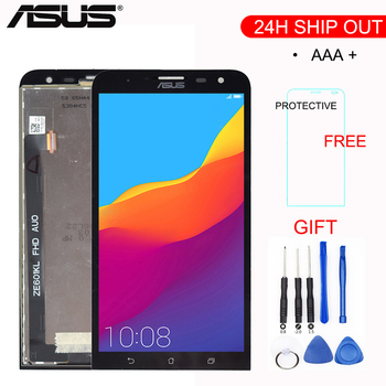 ORIGINAL 6.0'' 1920x1080 IPS LCD For ASUS Zenfone 2 Laser ZE601KL LCD Display Z011D ZE 601KL Touch Screen Digitizer Replacement image