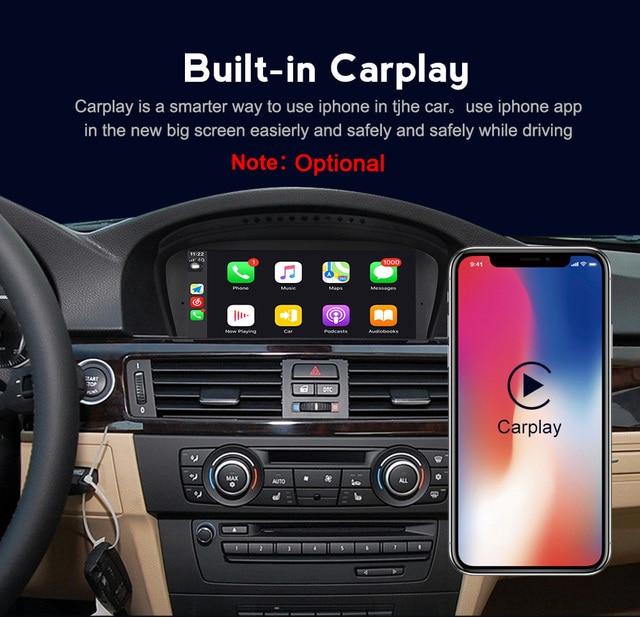 MEKEDE Android10.0 8 rdzeń samochodowy sprzęt Audio radio kaseta dla BMW X3 E83 na oryginalny samochód aktualizacji, zachować oryginalne Radio(CD) wszystkie funkcje